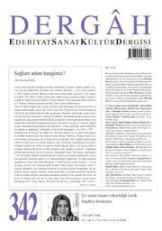 Dergah Edebiyat Sanat Kültür Dergisi Sayı:342 Ağustos 2018
