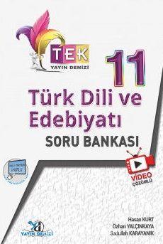 11. Sınıf TEK Serisi Video Çözümlü Türk Dili ve Edebiyatı Soru Bankası - Hasan Kurt pdf epub