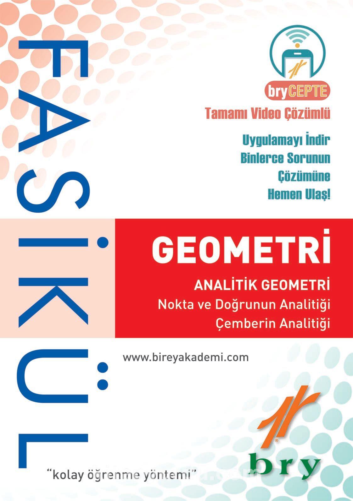 Geometri - Analitik Geometri (Fasikül)