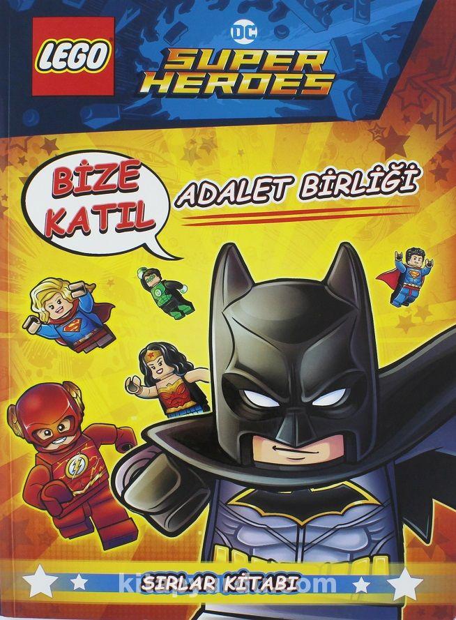 Lego DC Süperheroes Adalet Birliği Sırlar Kitabı - Kollektif pdf epub