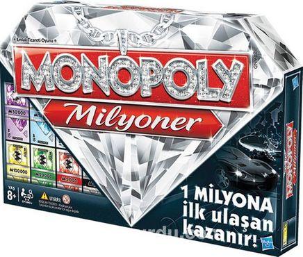 Monopoly Milyoner Eğlenceli Aile Kutu Oyunu (98838)