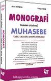 Monografi Tamamı Çözümlü Muhasebe Yazılı (Klasik) Çıkmış  Sorular