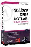 YDS İngilizce Ders Notları English Grammar