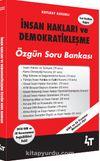 İnsan Hakları ve Demokratikleşme Özgün Soru Bankası