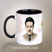Yazarlar Porselen Kupa - Charlie Chaplin
