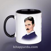 Yazarlar Porselen Kupa - Nikola Tesla