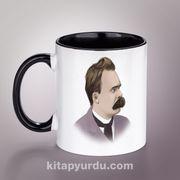 Yazarlar Porselen Kupa - Friedrich Nietzsche