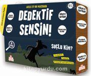 Dedektif Sensin! (4 Kitap Set)