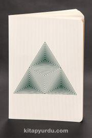 Akıl Defteri - Optik İllüzyon - Piramit Küp (Cep Boy)