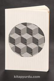 Akıl Defteri - Optik İllüzyon - Çokgen Küp (Cep Boy)