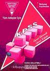 KPSS Genel Yetenek Genel Kültür (Editör:Kemal Karakaya)