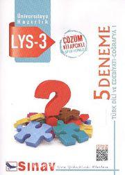 LYS 3 Türk Dili ve Edebiyatı-Coğrafya-1 5 Deneme Çözümlü