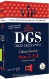 2019 DGS VIP Sayısal - Sözel Yetenek Son 5 Yıl Tamamı Çözümlü Çıkmış Sorular