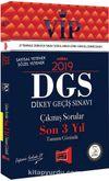 2019 DGS VIP Sayısal - Sözel Yetenek Son 3 Yıl Tamamı Çözümlü Çıkmış Sorular