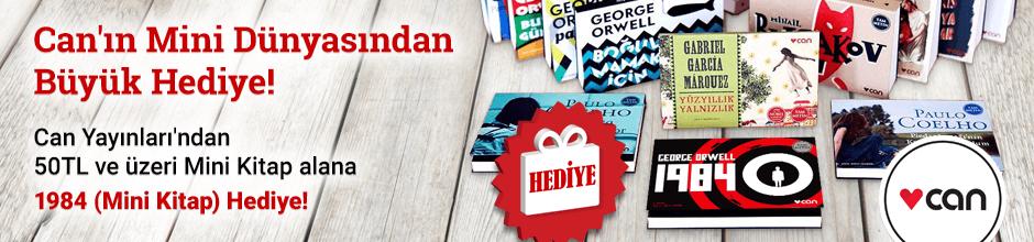 Can Yayınları'ndan 50TL ve üzeri Mini Kitap alana ''1984 (Mini Kitap)'' Hediye!