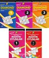 Diamond Zeka Oyunları Dizisi Dünya Beyin Olimpiyatları (5 Kitap)