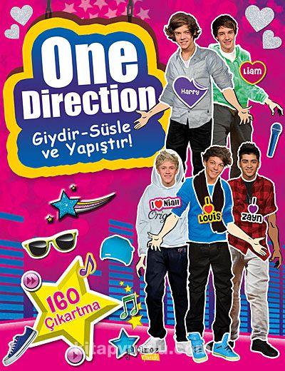 One Direction / Giydir - Süsle ve Yapıştır! -  pdf epub