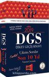 2019 DGS VIP Sayısal - Sözel Yetenek Son 10 Yıl Tamamı Çözümlü Fasikül Çıkmış Sorular