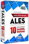 2014 ALES Tamamı Çözümlü 10 Fasikül Deneme / Sözel Adaylar İçin