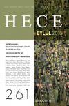 Sayı:261 Eylül 2018 Hece Aylık Edebiyat Dergisi Dosya: Şiir Buluşmaları Hakan Şarkdemir ile Şiir, Eleştiri, Poetik Hikem'e Dair