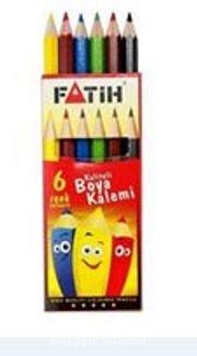 Fatih 6 Renk Yarım Boy Kuruboya(33006)