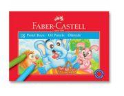 Faber-Castell Karton Kutu Pastel Boya 18 Renk (5282 125318)