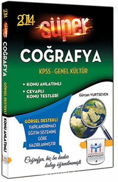 2014 KPSS Genel Kültür Süper Coğrafya (Görsel Destekli)