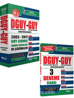 Devlet Gelir Uzman Yardımcılığı (DGUY) ve Gelir Uzman Yardımcılığı (GUY) Sınavlarına Hazırlık Seti