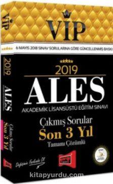 2019 ALES VİP Tamamı Çözümlü Son 3 Yıl Çıkmış Sorular - Kollektif pdf epub