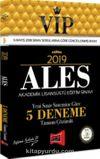 2019 ALES VİP Yeni Sınav Sistemine Göre Tamamı Çözümlü 5 Deneme