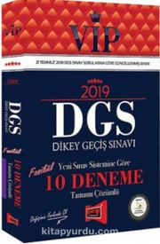2019 DGS VİP Yeni Sınav Sistemine Göre Tamamı Çözümlü 10 Fasikül Deneme