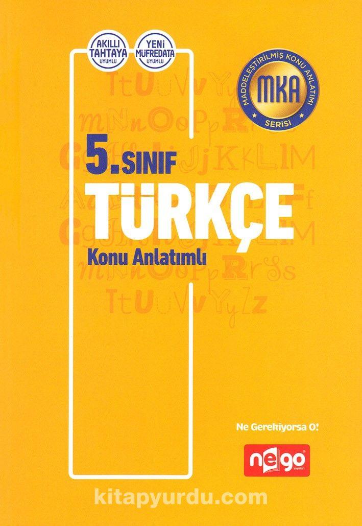 5. Sınıf Türkçe Konu Anlatımlı - Kollektif pdf epub