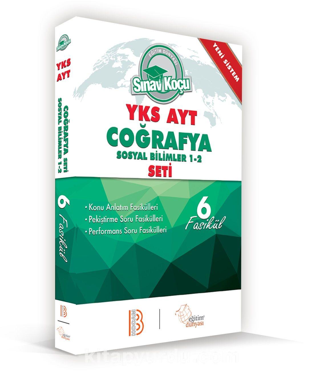 2019 YKS-AYT Coğrafya Sosyal Bilimler 1-2 Sınav Koçu Konu Anlatımlı 6 Fasikül Set - Kollektif pdf epub