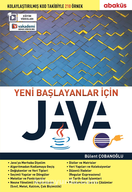 Yeni Başlayanlar için Java (Eğitim Videolu) - Bülent Çobanoğlu pdf epub