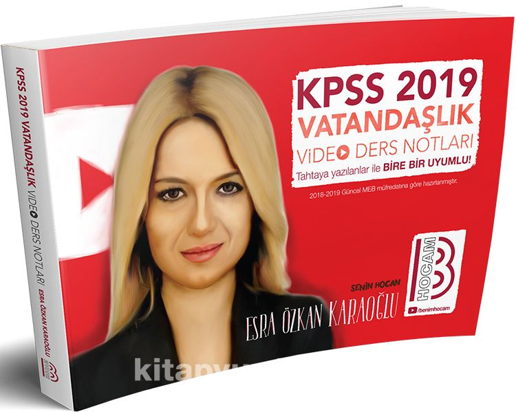 2019 KPSS Vatandaşlık Video Ders Notları - Esra Özkan Karaoğlu pdf epub