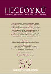 Hece Öykü İki Aylık Öykü Dergisi Sayı:89 Ekim-Kasım 2018