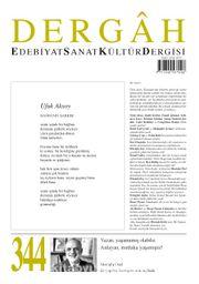 Dergah Edebiyat Sanat Kültür Dergisi Sayı:344 Ekim 2018