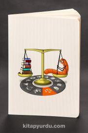 Akıl Defteri - Kitapkurdu Burçlar Serisi - Terazi (Cep Boy)
