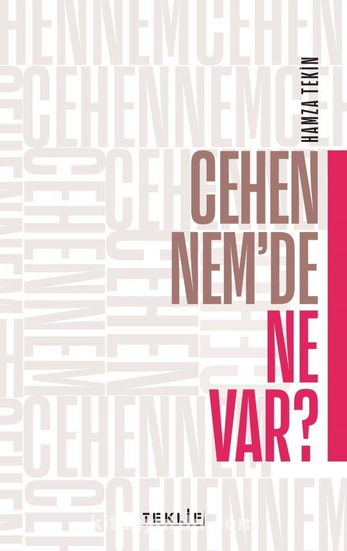 Cehennem'de Ne Var? - Hamza Tekin pdf epub