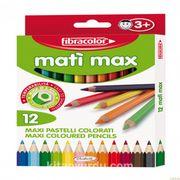 Fibracolor Mati Max Kalın 12 Renk Kuruboya