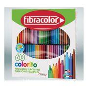 Fibracolor Colorıto 60 Renk Keçeli Kalem