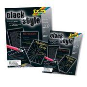 Folia Siyah Blok 130 Gsm A5
