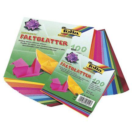 Folia Origami Kağıdı 10X10Cm 100 Ad