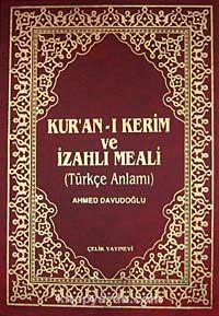 Kur'an-ı Kerim ve İzahlı Meali / Türkçe Anlamı (4 Renkli Cami Boy Kutulu) - Ahmed Davudoğlu pdf epub
