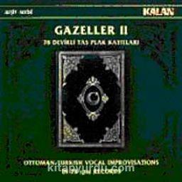 Gazeller-2 / 78 Devirli Taş Plak Kayıtlar (1 CD + 1 Kitapçık)