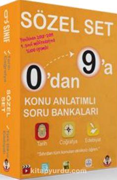 0'dan 9'a Konu Anlatımlı Soru Bankası Sözel Set - Kollektif pdf epub