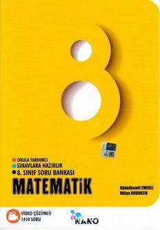 8. Sınıf Nano Matematik Video Çözümlü Soru Bankası - Abdulhamit Emekli pdf epub