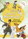 Disney Sihirli Maceralar Çıkartmalı Boyama Kitabı