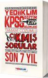 2019 KPSS Eğitim Bilimleri Tamamı Çözümlü Son 7 Yıl Çıkmış Sorular