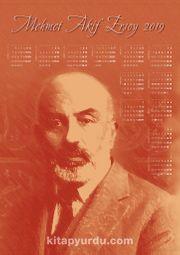 2019 Takvimli Poster - Yazarlar - Mehmet Akif Ersoy